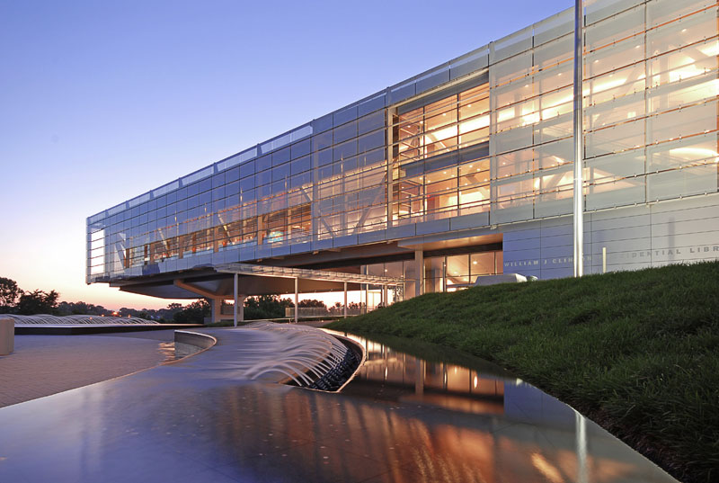 clinton library- little rock